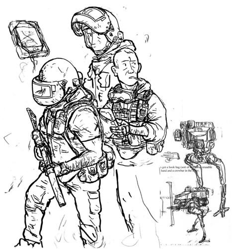 russkii sketching