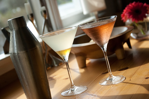 Drink of the Month: Cold Comfort Martini & Barbed Wire