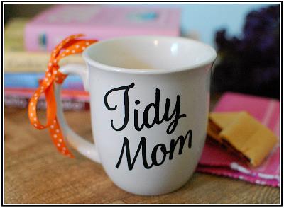 TidyMom Mug