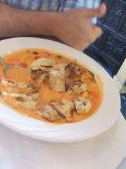 Roast duck curry