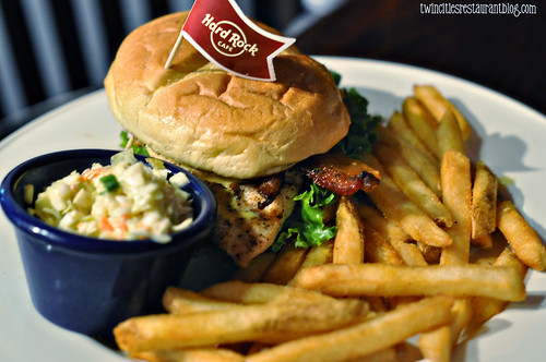 Grilled Chicken Sandwich @ Hard Rock Cafe ~ San Antonio, TX copy