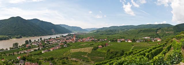 Weissenkirchen an der Donau - Panorama