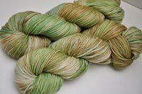 """Moss Agate"" on Aurora (merino/cashmere/nylon)"
