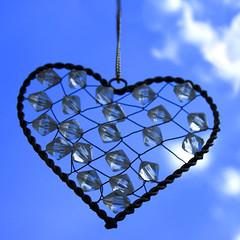 sky heart (takacsi75) Tags: love hearts heart crystalheart blueheart skyheart
