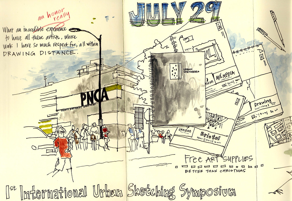 1st International Urban Sketching Symposium