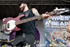 Iwrestledabearonce @ Vans Warped Tour, Comerica Park, Detroit, MI - 07-30-10