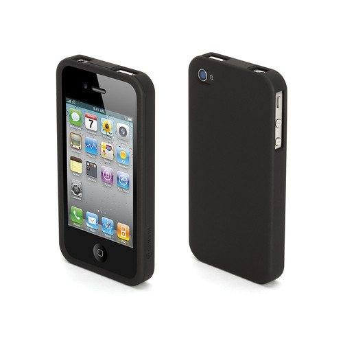 Outfit Ice black iPhone 4 case