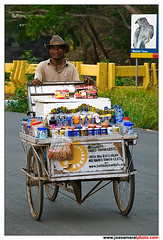 East Timorese Street Vendor  in Tricycle (joaoamaralphoto) Tags: road street portrait people bird geotagged nikon tricycle board places east vendor timor joao amaral joo easttimor dili eugenio eugnio timorese d80 joaoamaral jooamaral jooeugnioamaral joaoeugenioamaral