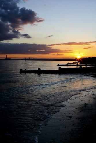 Lee-on-Solent Sunset, 040810