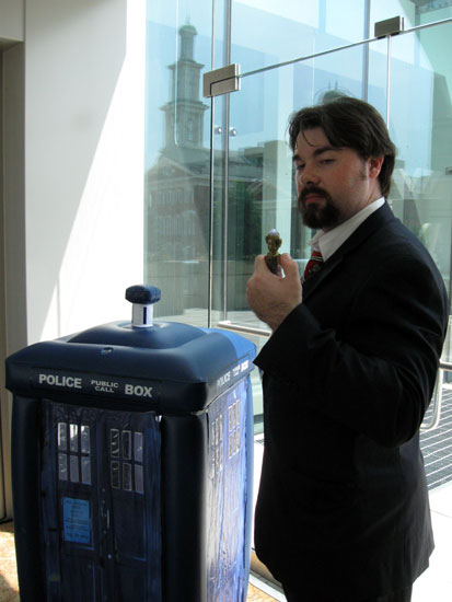 Dr. Who, Otakon Staffer