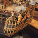 Ornate Stern  of the HMS Royal Katherine built in 1664 then sunk in Anglo Dutch war and raised and returned to service  in 1665 (1)