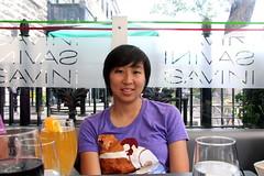 Lunch at Savini (LMGoBlue) Tags: quebec linda parliamenthill savini grandallee