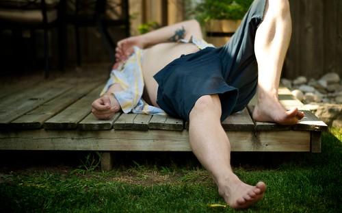 summer me backyard nikon melting warm deck heat shorts exhaustion thursday d90 365days seetoofatforaspeedo littleskinforyoupervs getmetotheairconditioning
