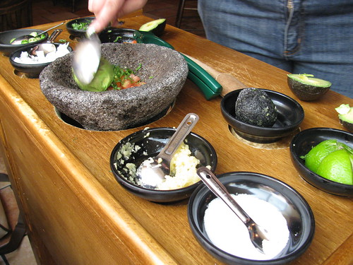 Tableside Guacamole is a Wonderful Thing