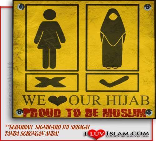 hijab sign by ilovehijab