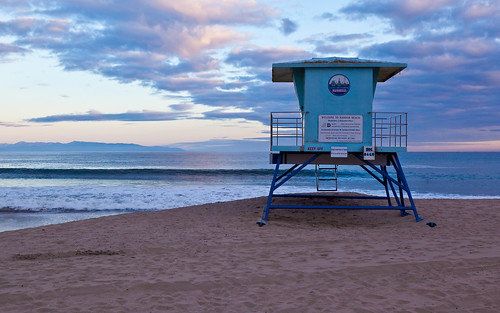 Santa Cruz Harbor Beach Lifeguard - A new photo on Flickr by m-arx