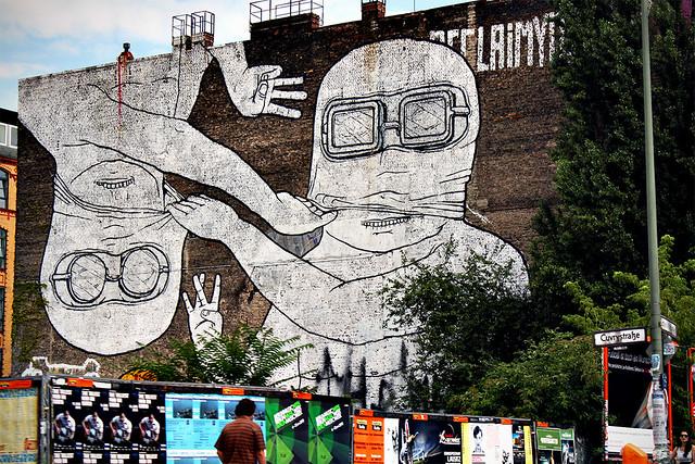 Berlin Streetart.