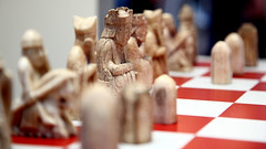 Lewis Chessmen, left