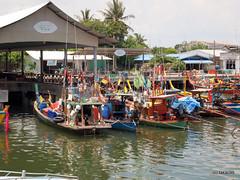 Tap Lamu Pier, Thailand (_takau99) Tags: ocean trip travel sea vacation holiday topv111 pen thailand pier asia may olympus thai tropical khaolak 2010 phangnga takau99 penlite epl1 taplamu taplamupier