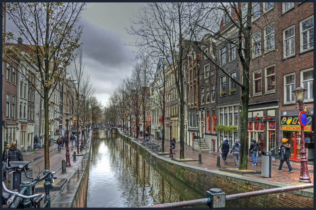 Red-light district (De Wallen) Amsterdam