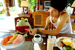 Ah (( _`) Sho) Tags: morning bali fruit breakfast indonesia paradise will villa    jimbaran         thefrogprince patmase    ginphan