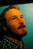 The green portrait (Mr-Pan) Tags: portrait beard redhead bleu roux barbe beardedman blueice mrpan