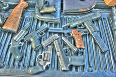It was a fun day (cgancos) Tags: 22 pistol guns handgun 38 9mm 410 hipoint judgesw
