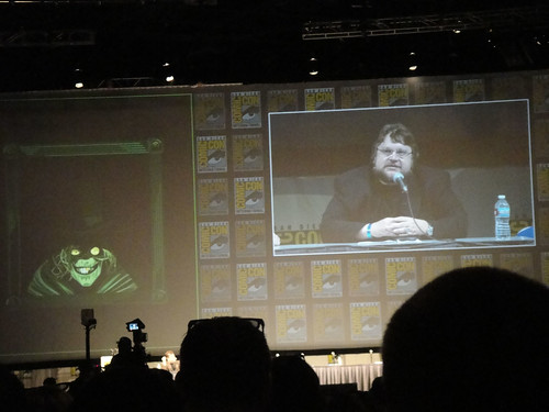 Comic-Con 2010 - Disney panel - Guillermo del Toro announces his involvement with the Haunted Mansion movie