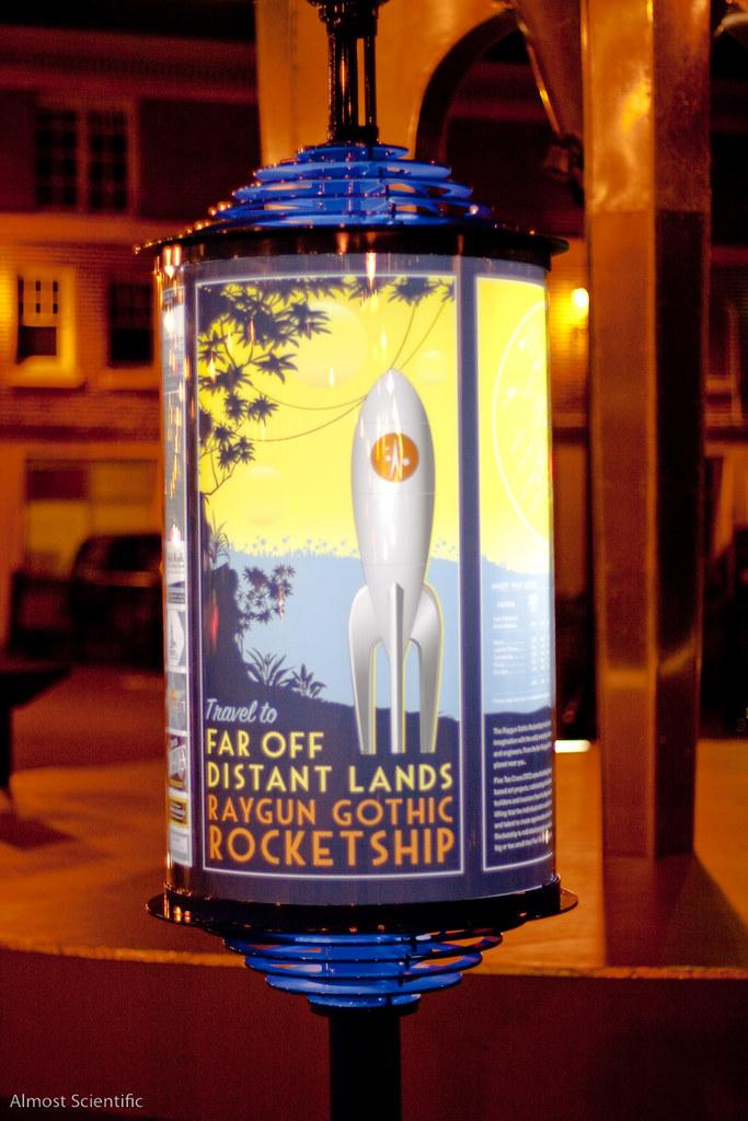 Raygun Gothic Rocketship Rocket Stop  (27 of 35)