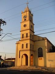 Igreja Santa Rita - Franca - SP (Goldfield 88) Tags: cidade interior centro igreja urbano paulo casas franca são tarde bairro prédios urbanismo ruas