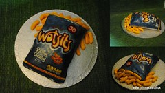 Wotsits Cake (MammaJammaCakes(very behind)) Tags: cake crisps vanilla snacks 30th cheesy wotsits