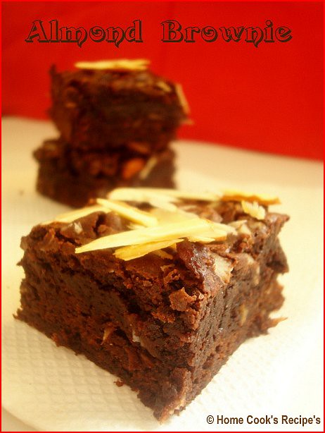 Almond Brownie