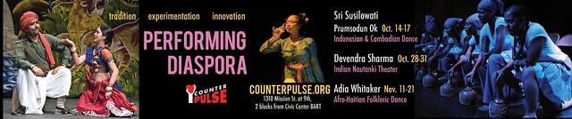Performing Diaspora 2010 Banner