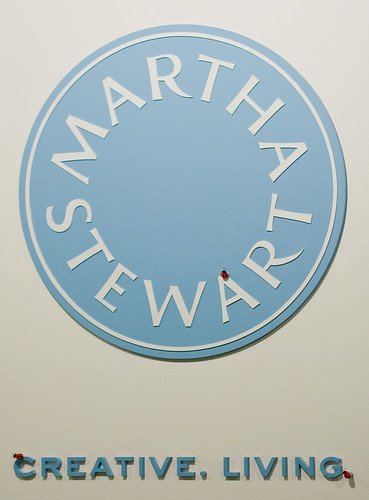 Martha logo in the entryway