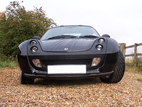 Smart Roadster Coupe Brabus. Smart Roadster Coupe BRABUS, taken in 2010