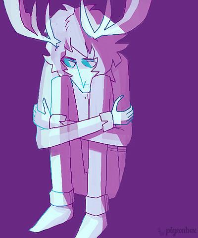 sad antlers