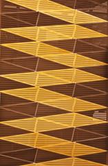 Car Park (Scottmh) Tags: park brown lines car yellow architecture photo angles australia melbourne victoria zig zag anglesanglesangles