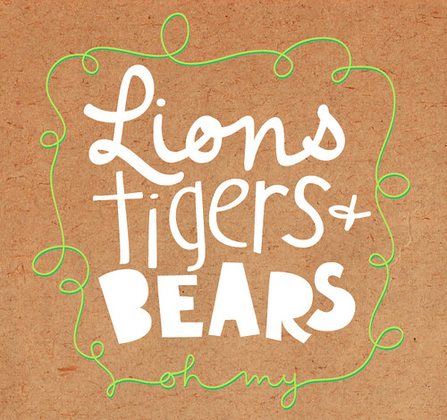 Lions, Tigers, and Bears! (oh my...)