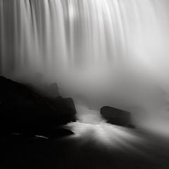 Niagara Falls (Maria Stromvik) Tags: longexposure mist ontario canada water niagarafalls waterfall rocks horseshoefalls ndfilter canadianfalls nd110 artlibres bwnd110