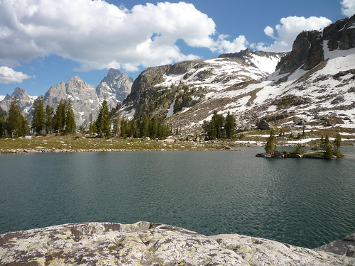Lake Solitude and Grand Teton