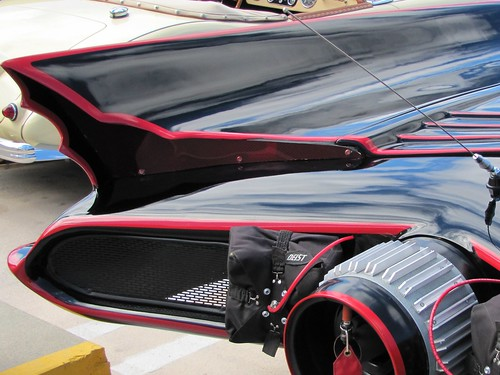 The '66 Batmobile: Fin detail
