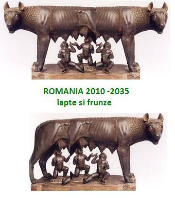 ROMANIA 2010-2035 lapte si frunze