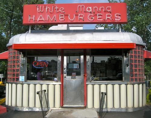 White Manna Hamburgers Classic