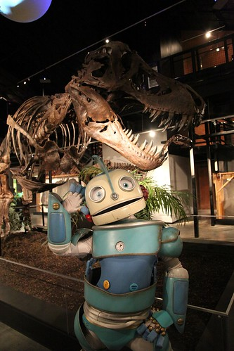 ROBOTS: HMNS at Sugar Land