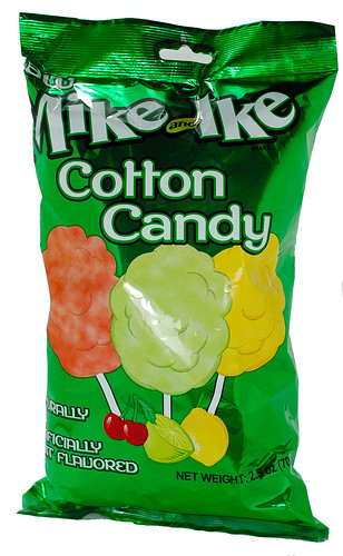 Mike & Ike Cotton Candy bag