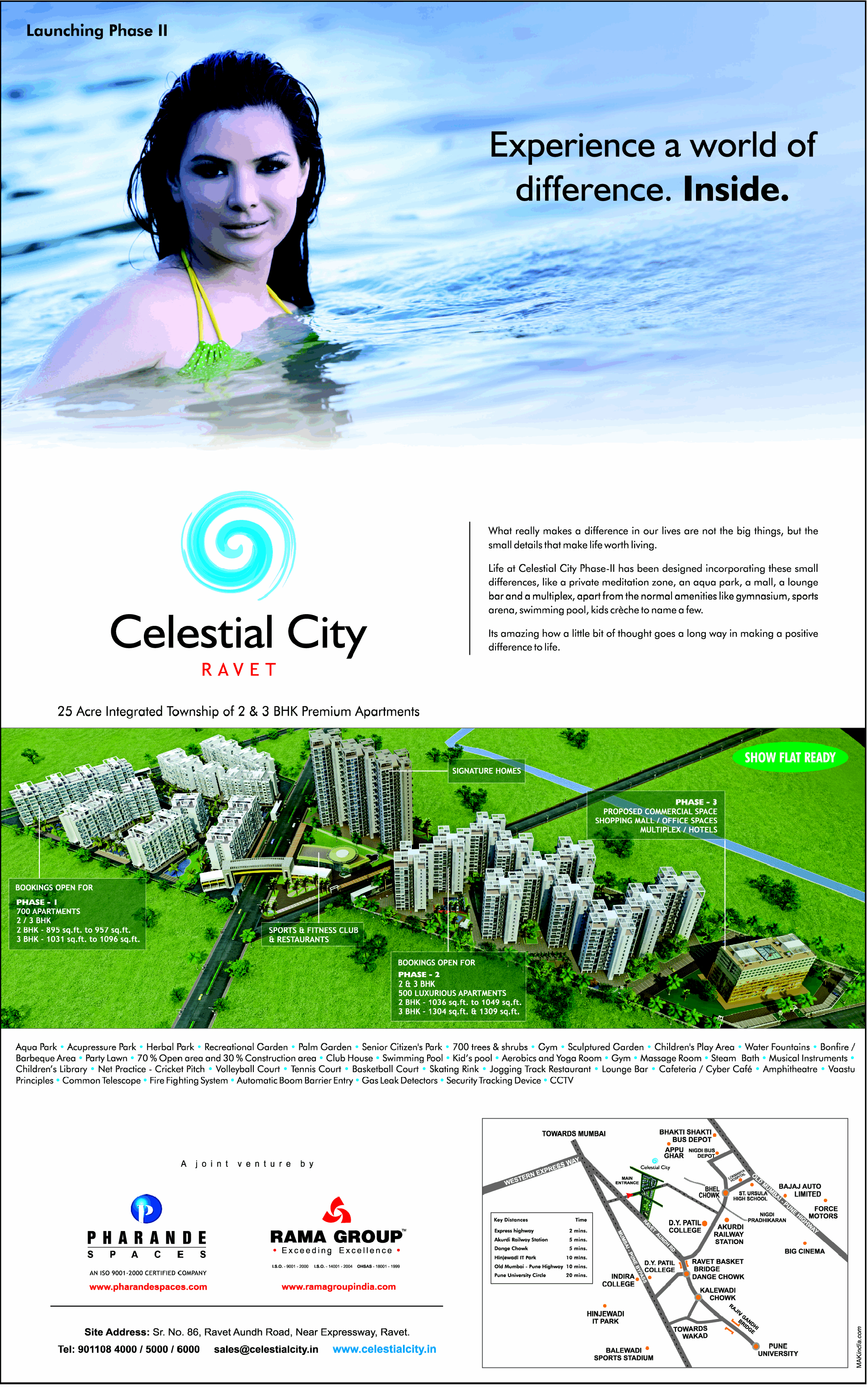 Celestial City Ravet PCMC Pune - Launches Phase 2