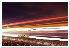 faster than light.. (vishwaant) Tags: road longexposure light india canon eos lights is long exposure traffic 1855mm chennai tamilnadu ecr 500d eastcoastroad omr salai  karunanithi vishwaant  kalaignar kissx3 t1i vishwaantin cvishwaant canoneos500d1855mmis oldmahaballipuramroad kalaignarkarunanithisalai kksalai