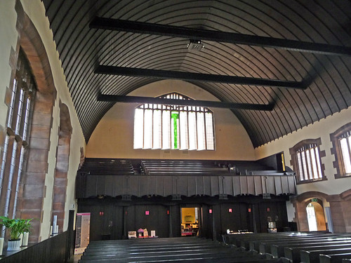 Interior of Mackintosh Church, Glasgow