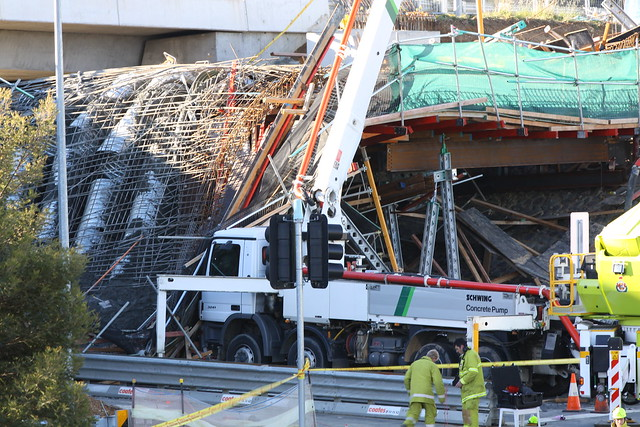 Aftermath of the Canberra Bridge Collapse