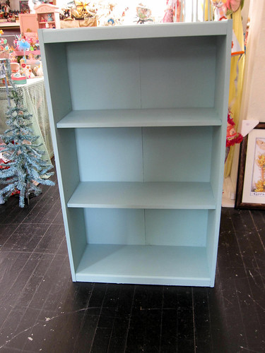 Painted shelf, Robins Egg Blue! 3